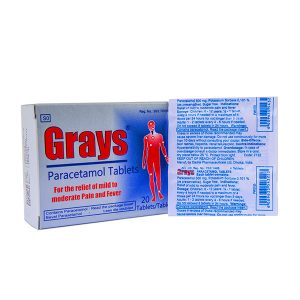 Grays Paracetamol Tablets