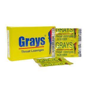 Grays Throat Lozenges